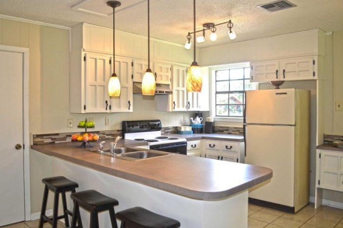 Барная стойка для кухни (120 реальных фото): примеры эксклюзивного дизайна с необычной планировкой