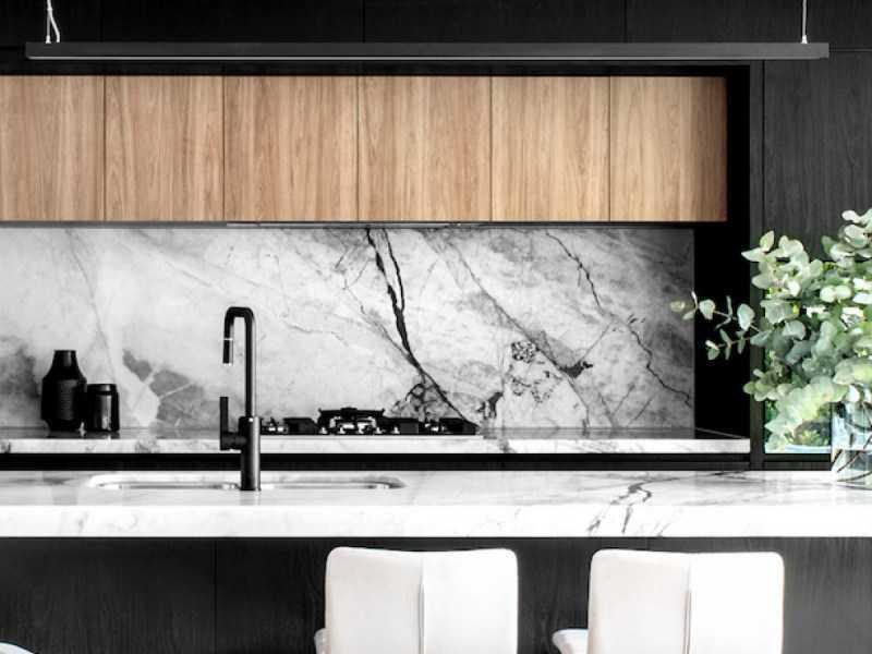 Черно-белая кухня: 100 фото лучших идей по сочетанию. Обзор нестандартных вариантов дизайна черно-белой кухни