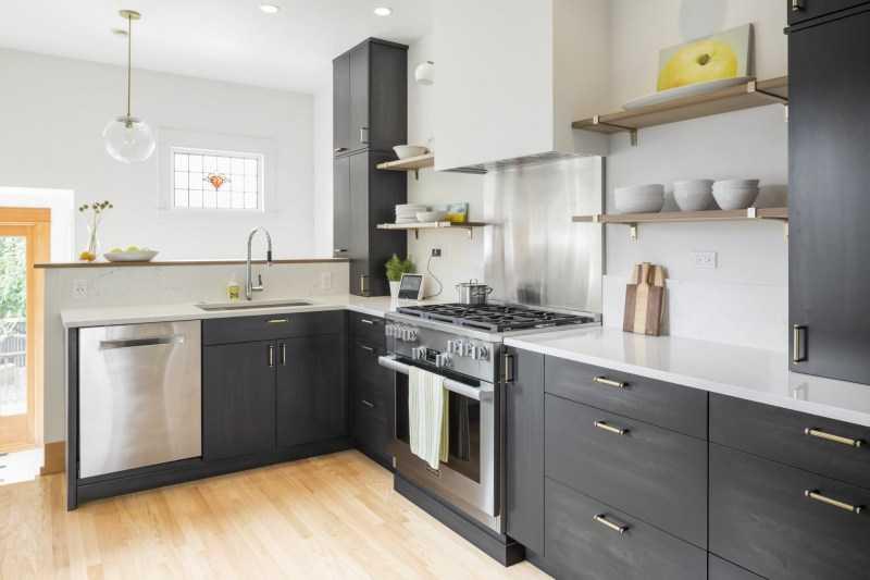 Дизайн маленькой кухни — 150 реальных фото, как обустроить удобный и практичный дизайн. Инструкции и схемы планировки
