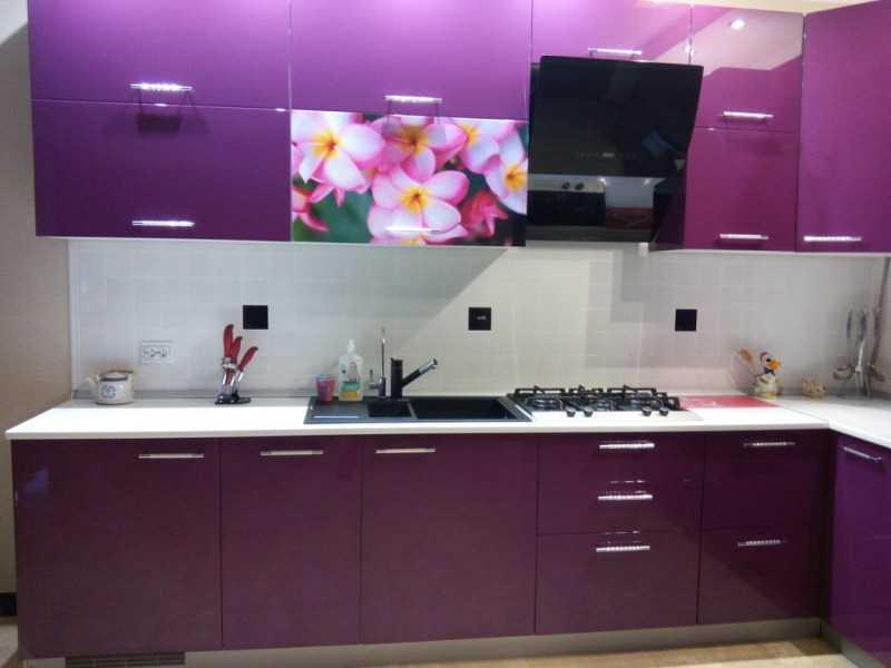 Фиолетовая кухня — варианты идеально сочетания кухни фиолетового оттенка. 125 фото готового дизайна кухни