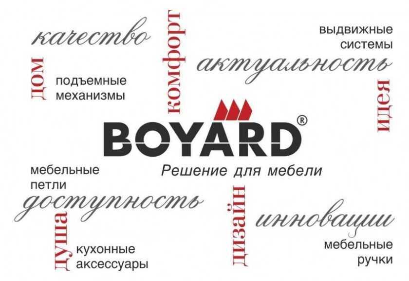 Фурнитура Боярд (Boyard) — полный обзор плюсов и минусов. Фото новинок, отзывы, отличия