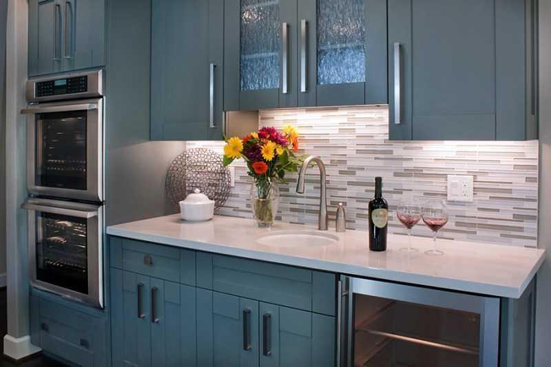 Голубая кухня: инструкция, как правильно оформить кухню в голубом цвете. 130 фото лучших идей дизайна кухни