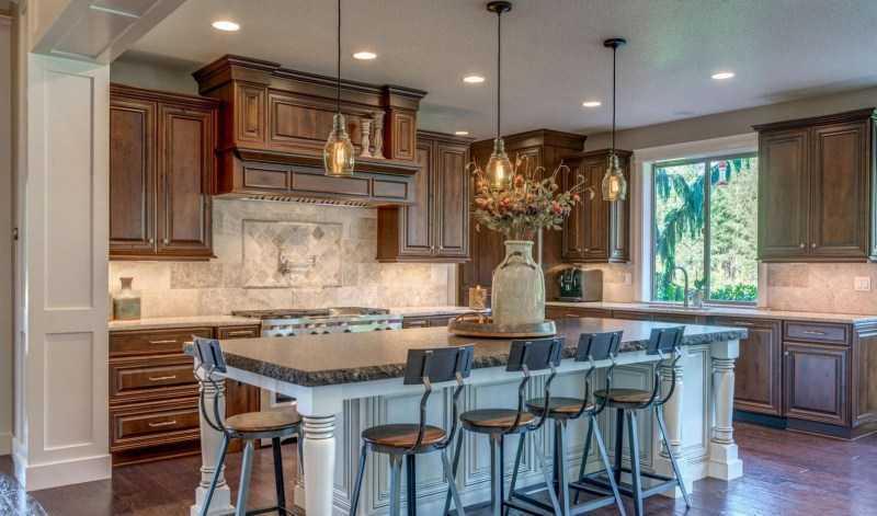 Коричневая кухня: 150 фото лучших вариантов сочетания дизайна кухни коричневого цвета