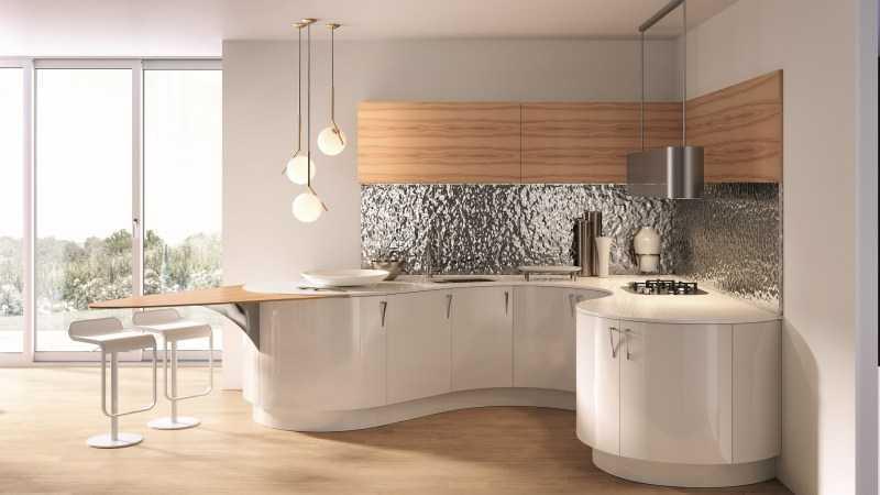 Круглая кухня: эксклюзивный дизайн, который экономит пространство (100 фото идей)