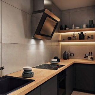 Кухня без верхних шкафов — обзор лучших идей и новинок дизайна кухни. 145 реальных фотографий + инструкция