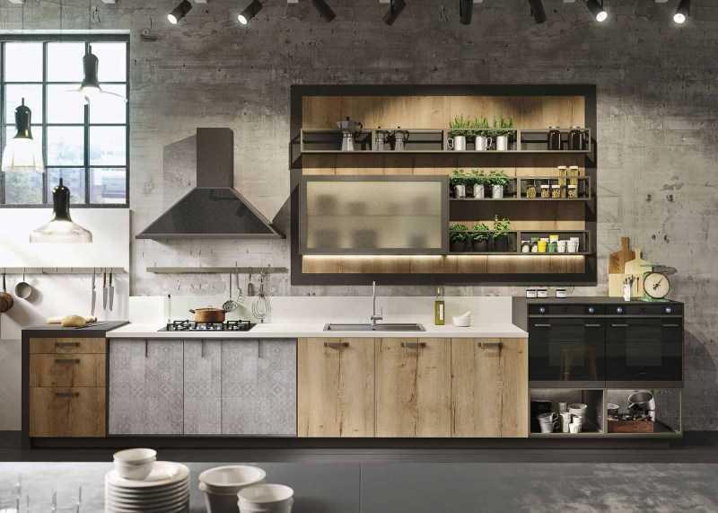 Кухня в стиле Лофт — 120 фото самых свежих идей и новинок дизайна
