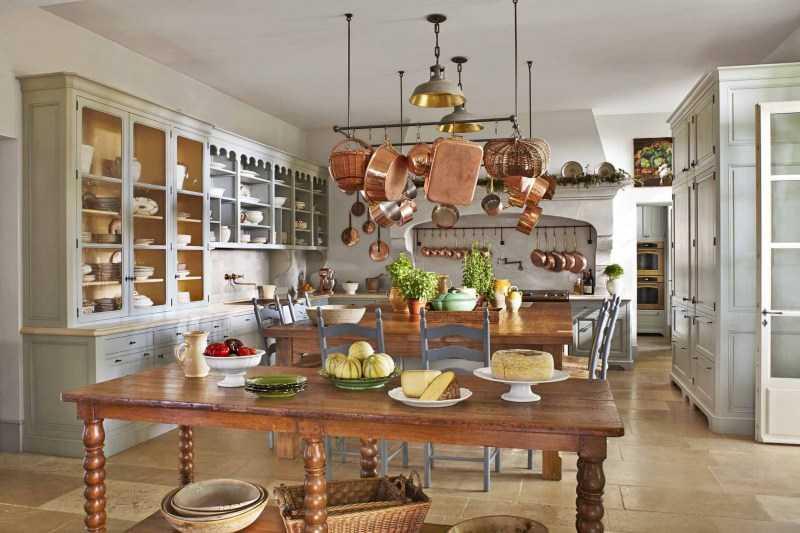 Кухня в стиле прованс: самые красивые примеры дизайна кухни