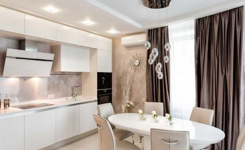 Кухонные гарнитуры: обзор красивых и современных вариантов дизайна (125 фото новинок)