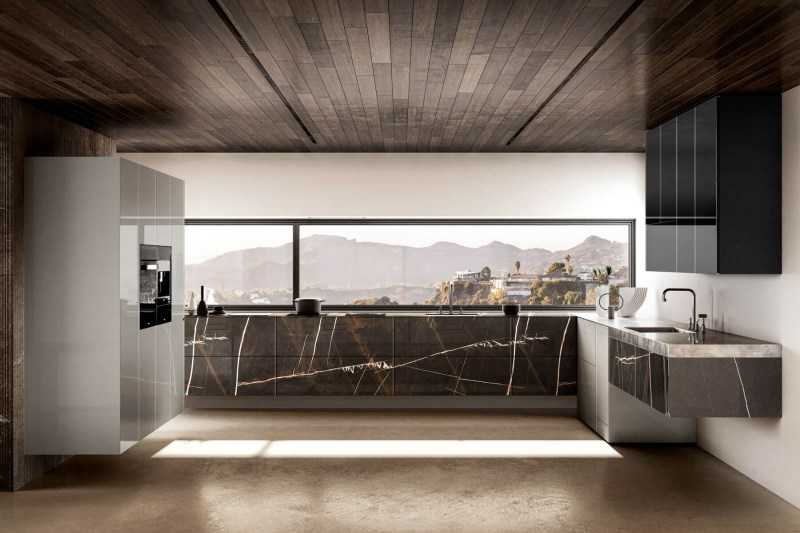 Навесная кухня — фото стильных дизайнов, варианты обустройства. Плюсы и минусы конструкции + реальные примеры интерьеров