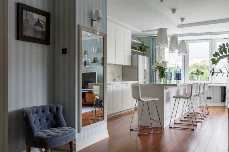 Обои для кухни: ТОП-100 фото лучших новинок дизайна. Эксклюзивные варианты обоев в интерьере современной кухни