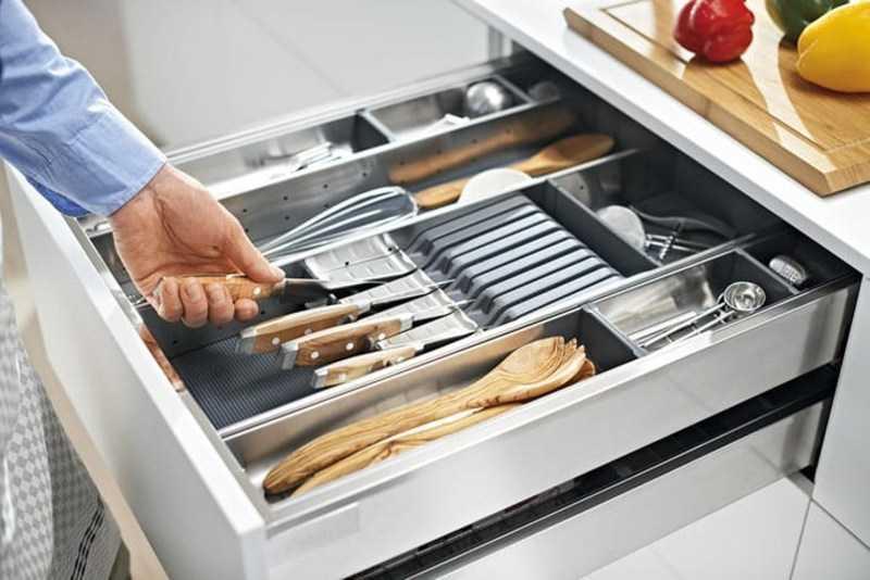Органайзеры для кухни: плюсы и минусы материалов, виды органайзеров, советы в организации хранения (100 фото)