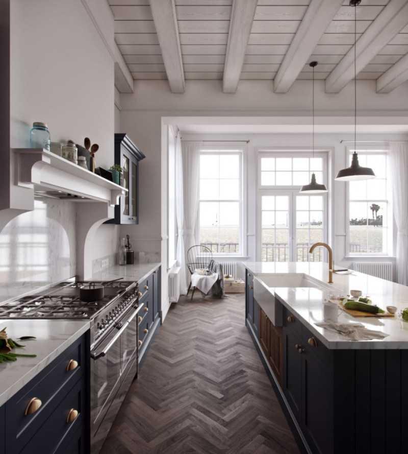 Отделка кухни: нюансы отделки, стильная цветовая гамма и материалы + фото лучших идей дизайна