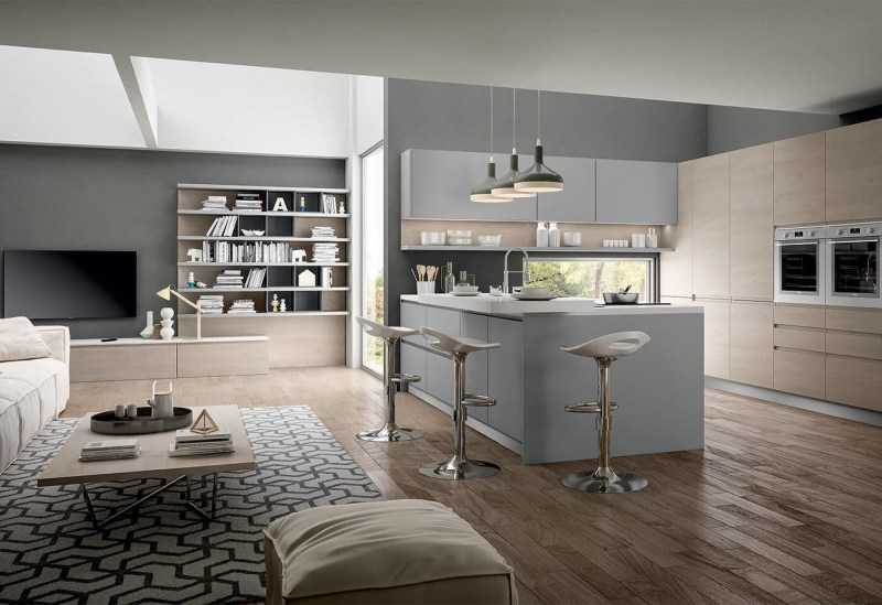 Пол на кухне: обзор лучших вариантов и красивых примеров (90 фото)