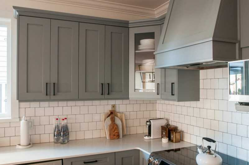 Серая кухня: варианты оформления дизайна кухни в серых тонах (110 реальных фото)