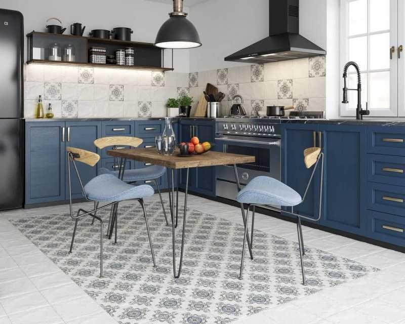 Стены на кухне — материалы для отделки, стильный дизайн и оформление стен (фото + видео)