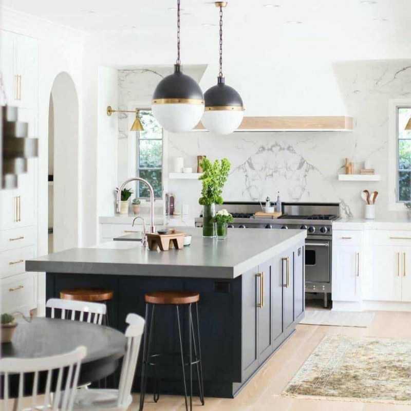 Стильные кухни: фото-обзоры новинок дизайна, стилистика интерьера, цветовые решения, идеи обустройства