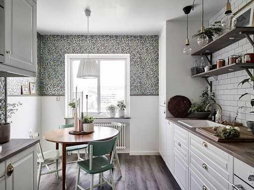 Стол для маленькой кухни: обзор новинок мебели 2020 года (100 фото)