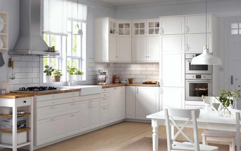 Высота кухонного гарнитура от пола: обзор стандартов + фото готового дизайна и таблица расчета