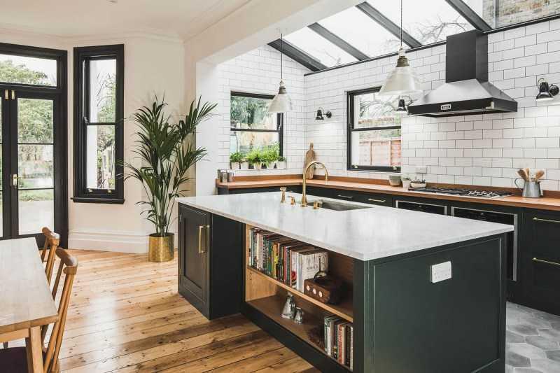 Зеленая кухня — актуальные дизайнерские решения по сочетанию зеленого цвета в интерьере кухни (100 фото идей)