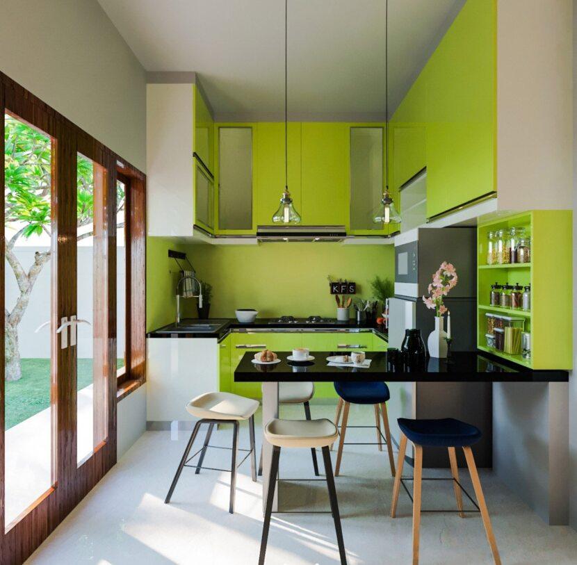 Сочетание цветов в интерьере кухни: примеры красивого дизайна, фото новинок и необычных идей (80 фото)